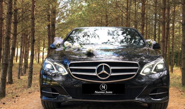 Mercedes nuoma vestuvems