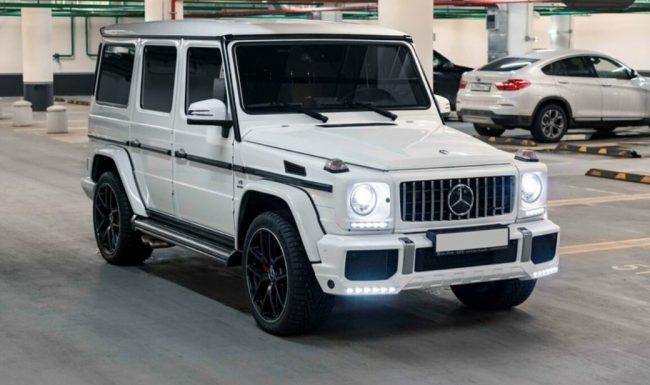 Mercedes G Nuoma baltas 3
