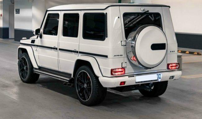 Mercedes G Nuoma baltas 4
