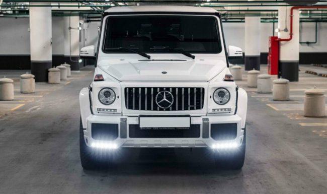 Mercedes G Nuoma baltas 6