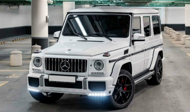 Mercedes G Nuoma baltas 7