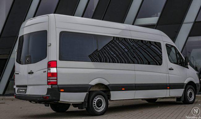 Keleivinių mikroautobusų nuoma ekskursijoms