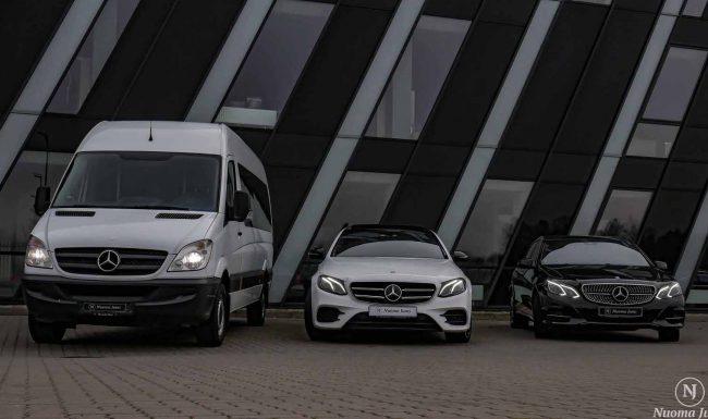 Keleivinių mikroautobusų nuoma tryjo
