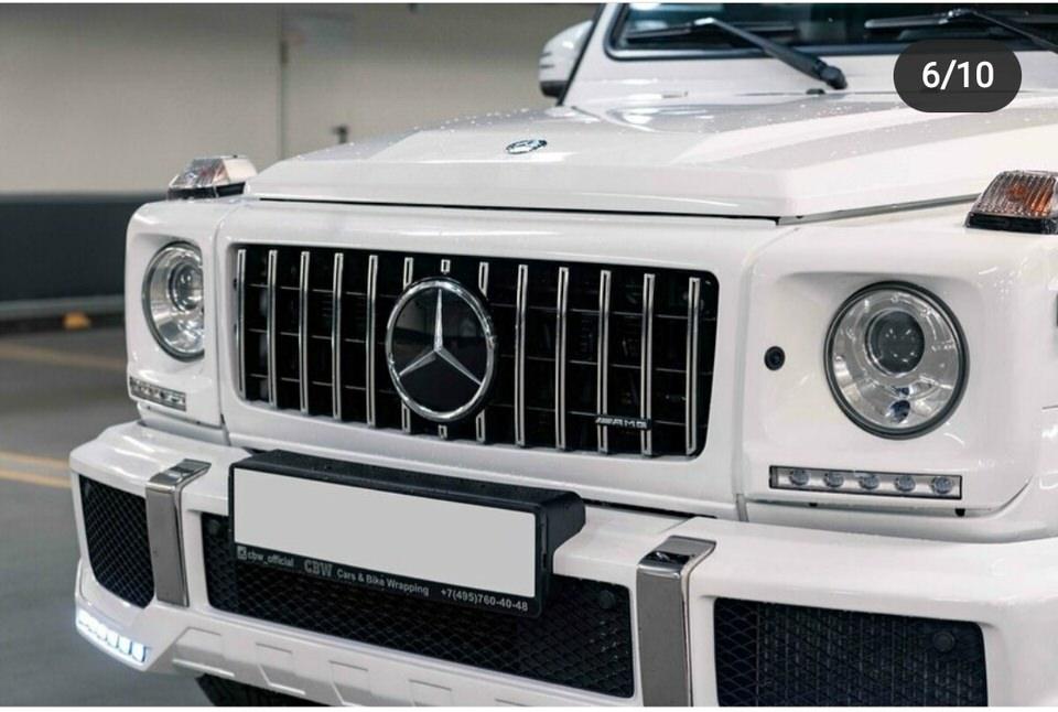 Mercedes Benz G (geliko) nuoma Vilniuje