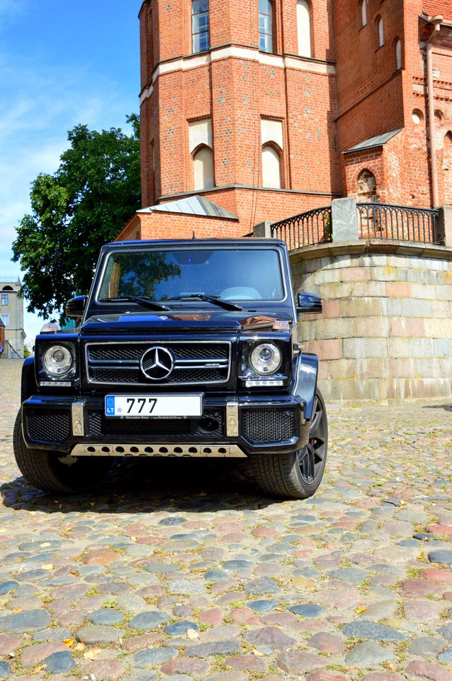 Mercedes Benz G (geliko) nuoma Kaune