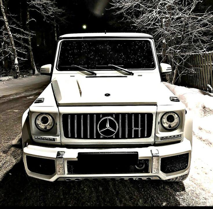 Mercedes-Benz G 55 AMG (geliko) nuoma baltas